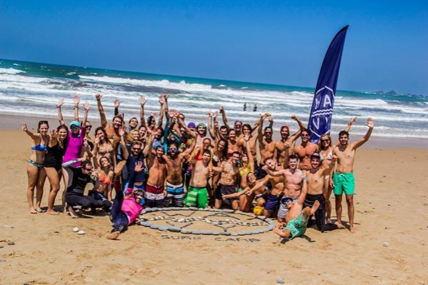 wavy surf camp an der algarve in portugal